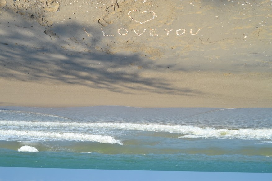 День всех влюбленных на море