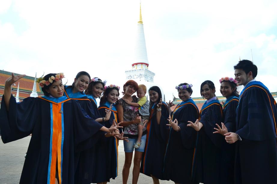 Тайские студенты