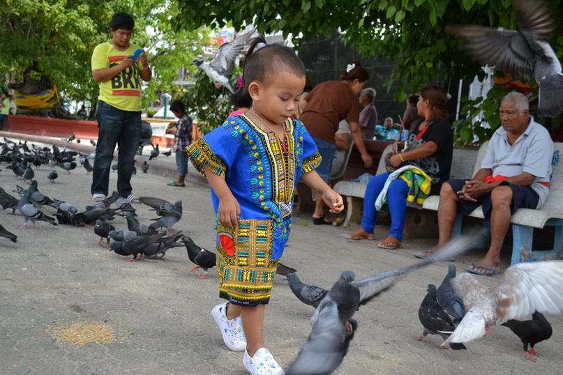 Тайский мальчик