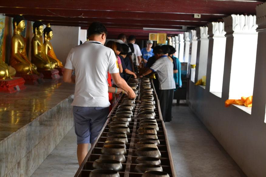 Тайский религиозный обряд