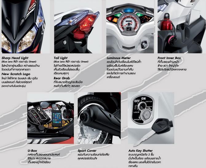 Хонда Клик Таиланд