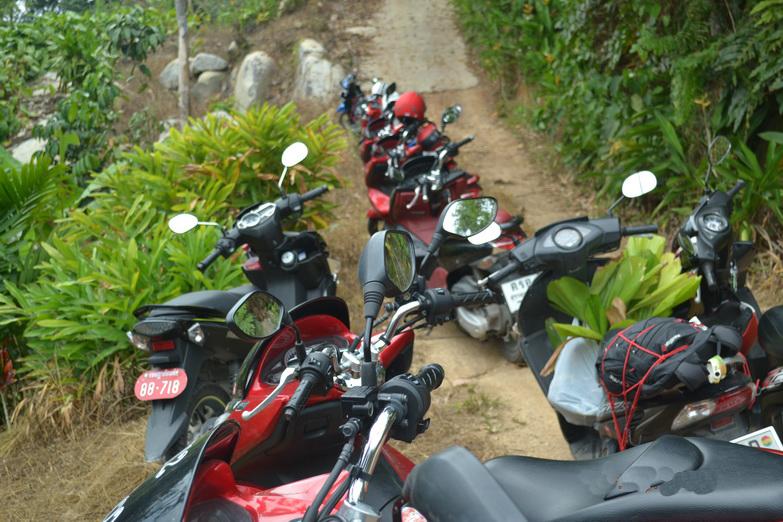 Путешествия на скутере по Таиланду