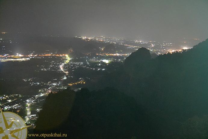 Вид на ночной Краби