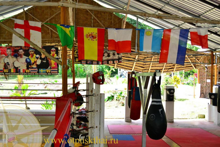 тайский бокс краби