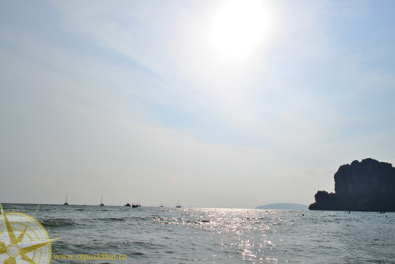 Закат на западном пляже