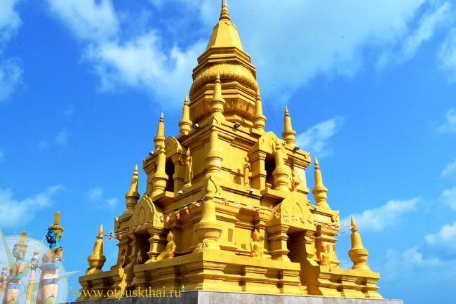 Пагода Lameso в Таиланде