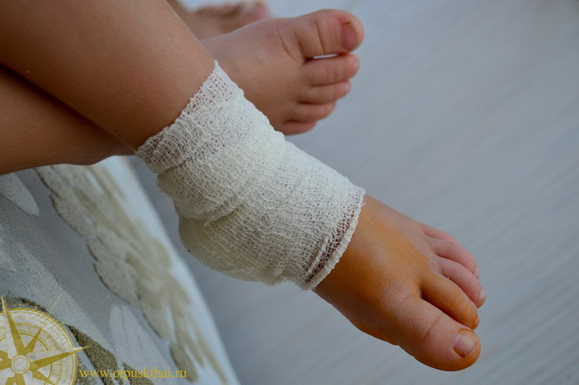 Перевязка в Краби госпитале