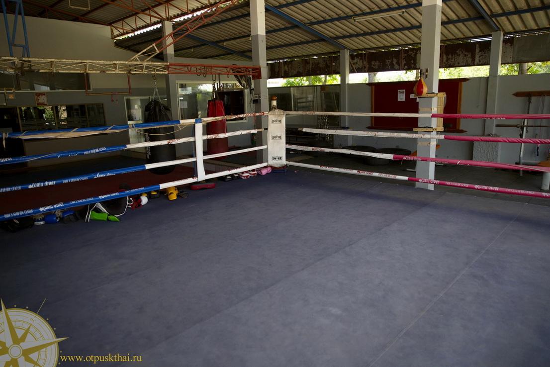 Ринг для бокса на Ланте