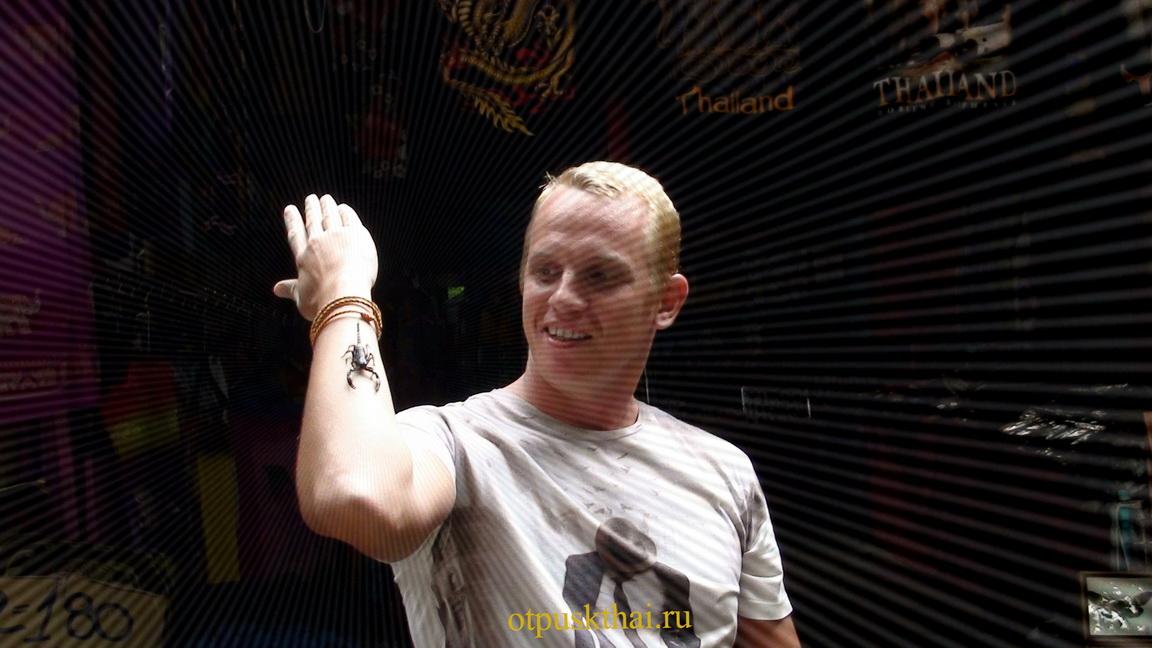 Скорпион в Таиланде на Самуи