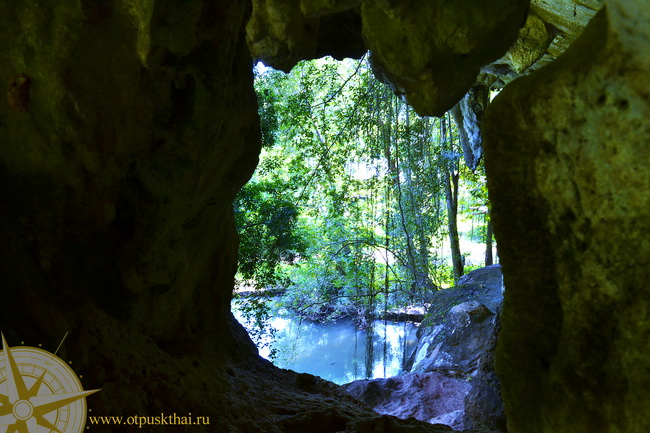Затопленная пещера Tham Sra Kaeo