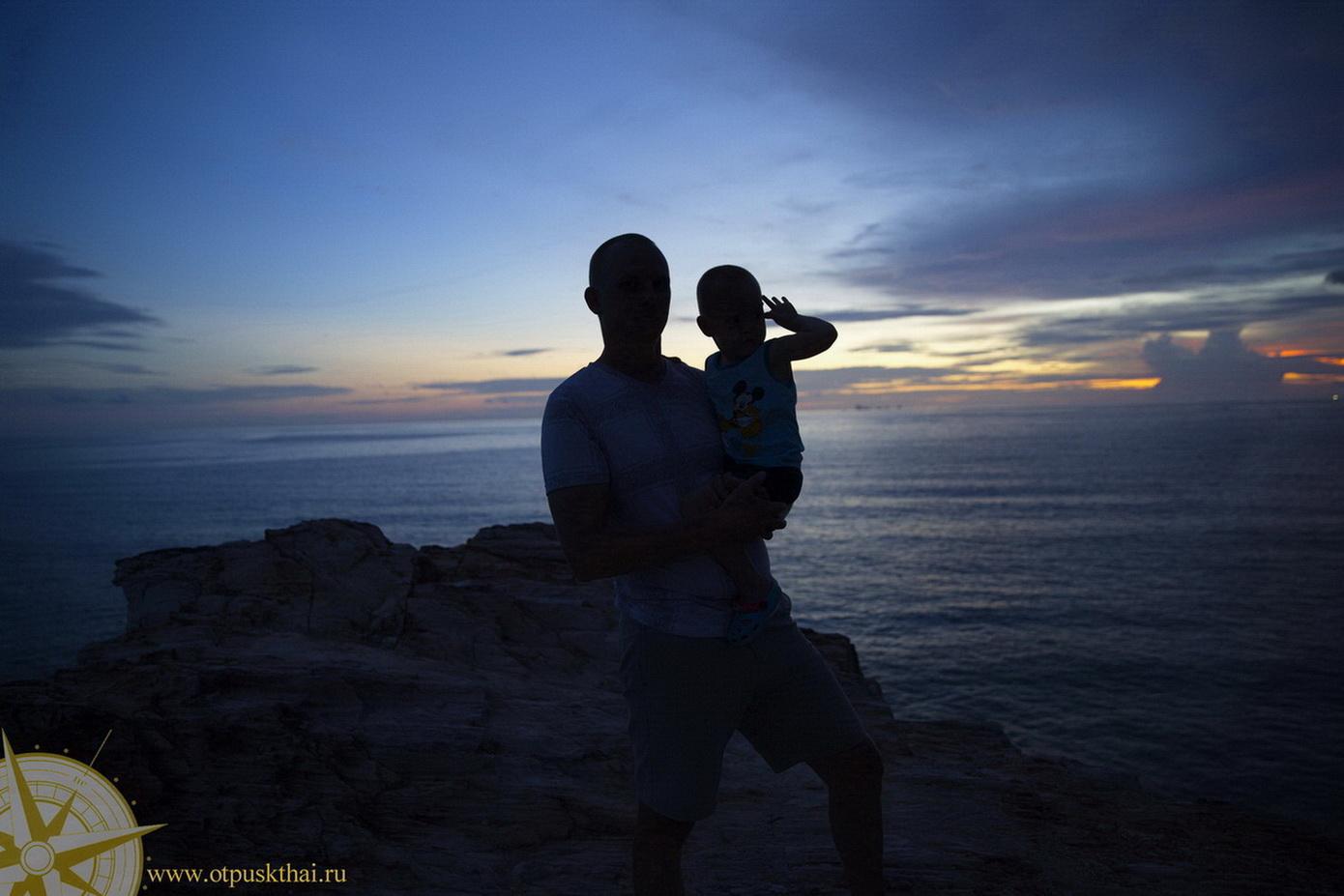 Закаты на острове Ланта