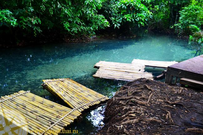 Краби прозрачная река