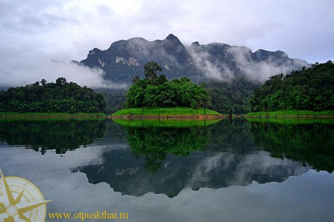 Рыбалка в Таиланде. Озеро Чео Лан в Као Сок