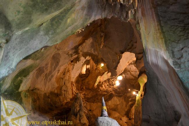 Пещера кристаллов Ват Суван Куха