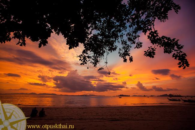 удивительные пляжи Краби Клонг Муанг