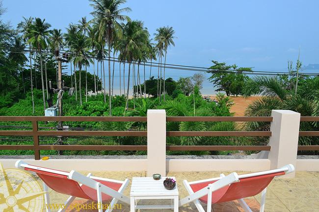 отель на пляже Краби