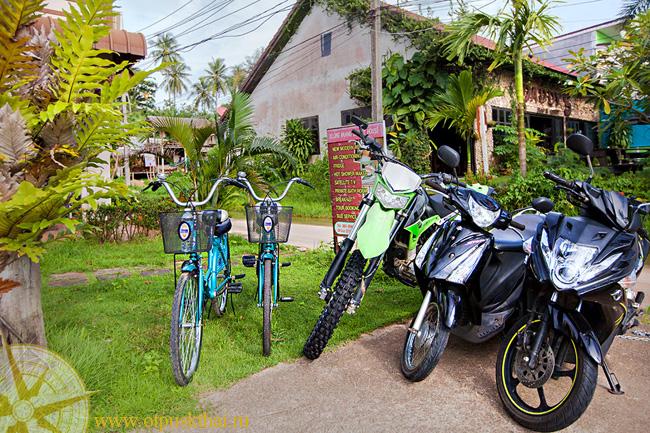 аренда велосипедов Краби